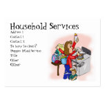 Household Services Business Card Template