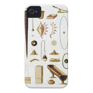 Household utensils and weapons from the Mariannas iPhone 4 Case-Mate Cases