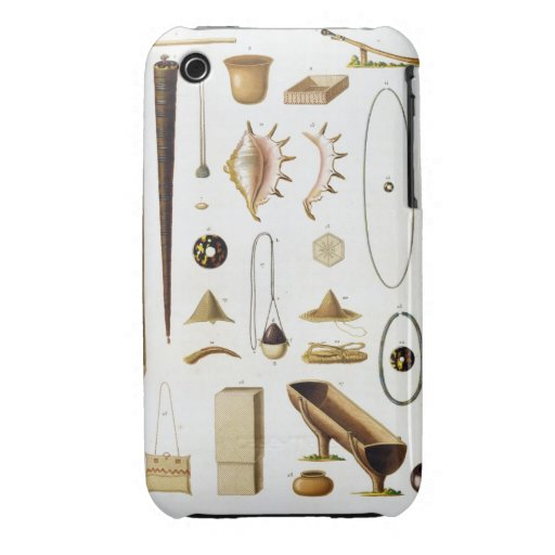 Household utensils and weapons from the Mariannas Case-Mate iPhone 3 Cases