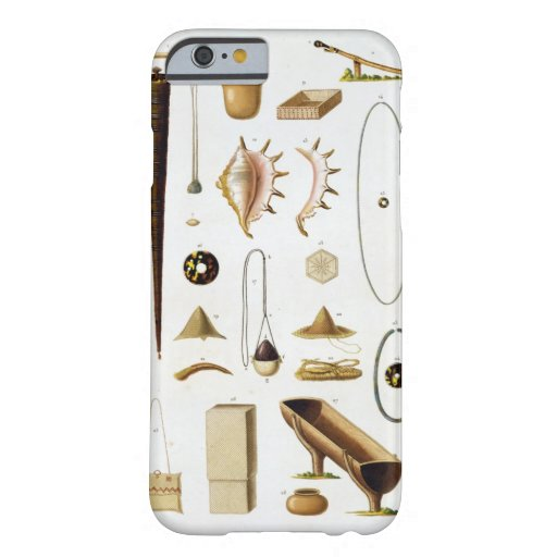 Household utensils and weapons from the Mariannas iPhone 6 Case