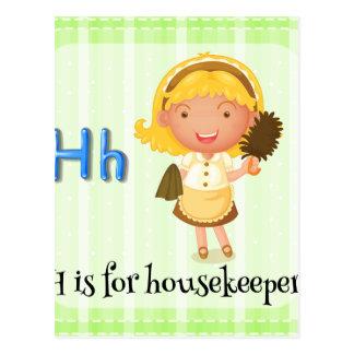 Housekeeper Postcard