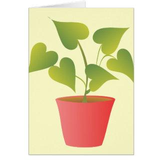 Houseplant III Note Card
