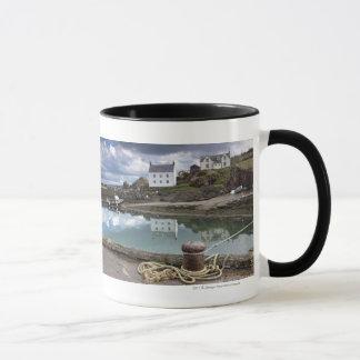 Houses And Boats Along The Water Mug