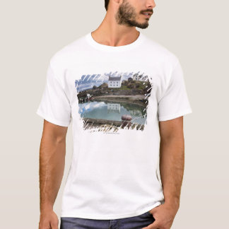 Houses And Boats Along The Water T-Shirt