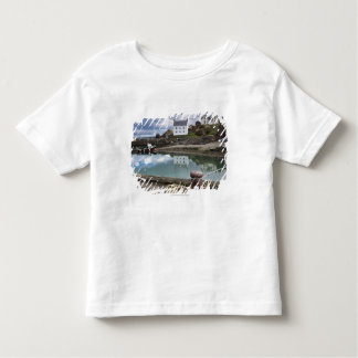 Houses And Boats Along The Water Toddler T-Shirt