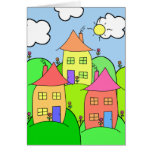 Houses and Hills Cards
