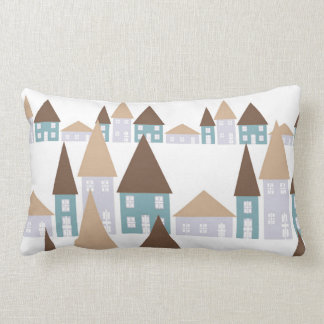 Houses and Roof Tops Cushions
