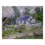 Houses at Auvers by Vincent Van Gogh Poster
