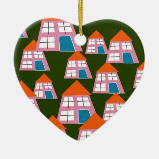 Houses Christmas Ornament
