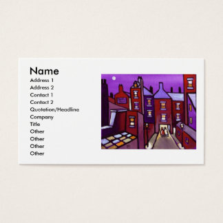 HOUSES GALORE BUSINESS CARD