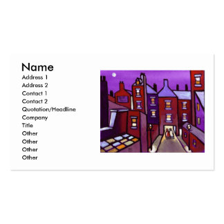 HOUSES GALORE PACK OF STANDARD BUSINESS CARDS