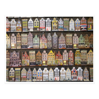 Houses greetingcard post card