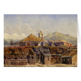 Houses in Acapulco Card