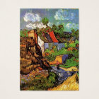 Houses in Auvers, Fine art by Vincent van Gogh. Business Card