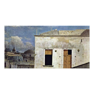 Houses In Naples By Jones Thomas (Best Quality) Photo Greeting Card