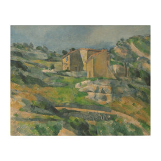 Houses in the Provence: The Riaux Valley Wood Wall Decor