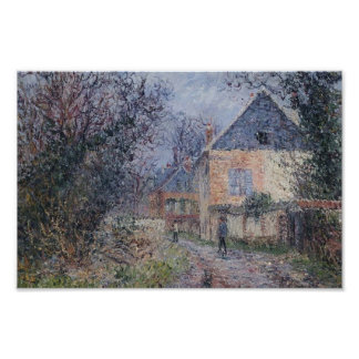 Houses near the Eure by Gustave Loiseau Poster