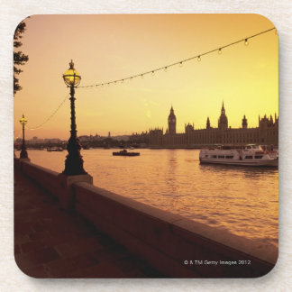 Houses of Parliament at Sunset Coaster