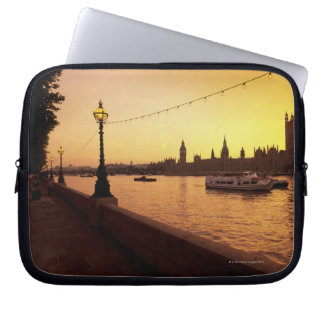 Houses of Parliament at Sunset Computer Sleeve