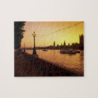 Houses of Parliament at Sunset Jigsaw Puzzle