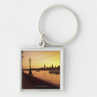 Houses of Parliament at Sunset Key Ring