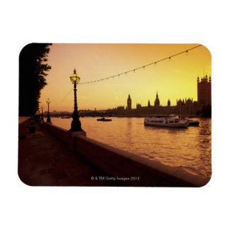 Houses of Parliament at Sunset Magnet