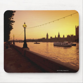 Houses of Parliament at Sunset Mouse Mat