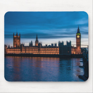 Houses of Parliament & Big Ben, London, England Mouse Pad