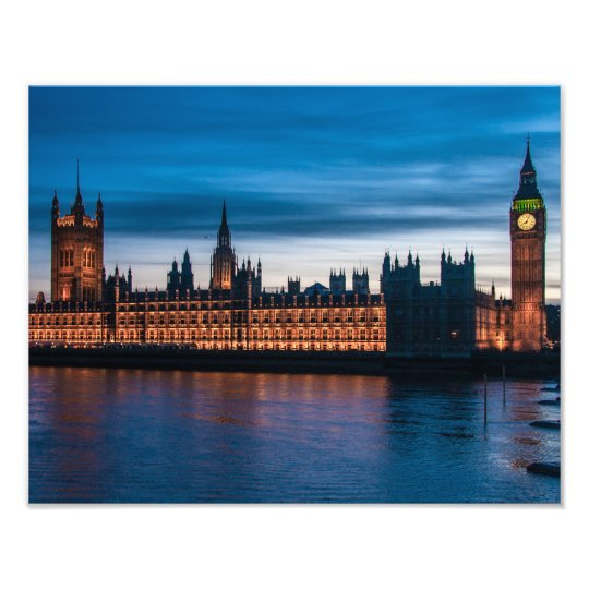 Houses of Parliament & Big Ben, London, England