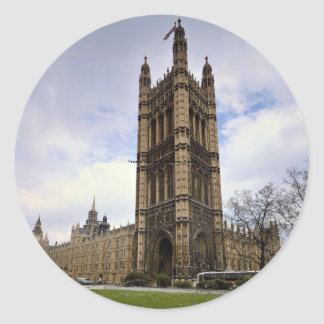 Houses of Parliament, Big Ben, London, England Stickers