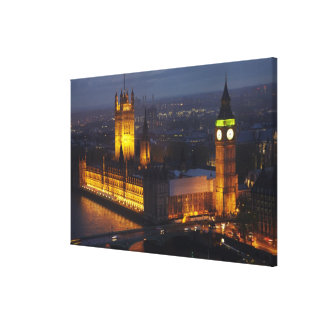 Houses of Parliament, Big Ben, Westminster Gallery Wrapped Canvas