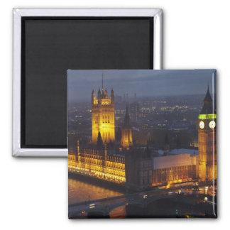 Houses of Parliament, Big Ben, Westminster Magnet