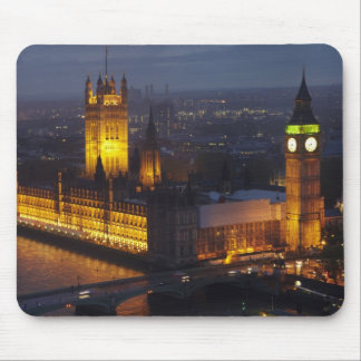 Houses of Parliament, Big Ben, Westminster Mouse Mat