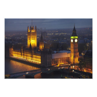Houses of Parliament, Big Ben, Westminster Photo Print