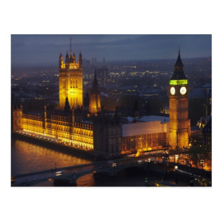 Houses of Parliament, Big Ben, Westminster Postcard