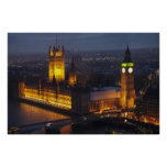 Houses of Parliament, Big Ben, Westminster Poster
