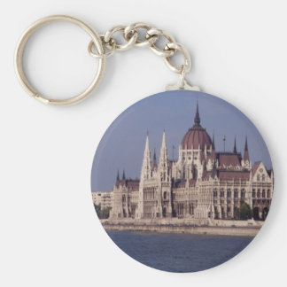 Houses of Parliament, Budapest, Hungary Key Ring