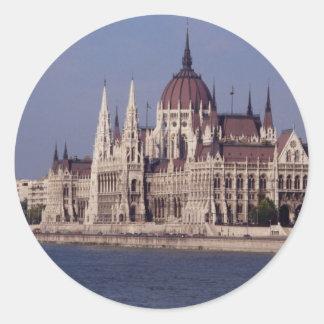 Houses of Parliament, Budapest, Hungary Sticker