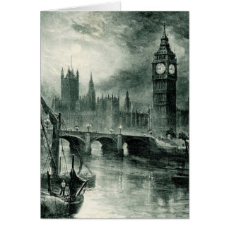 Houses of Parliament, London Card