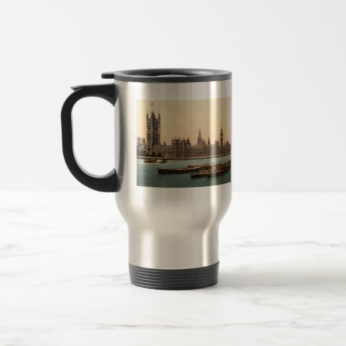 Houses of Parliament, London, England Stainless Steel Travel Mug