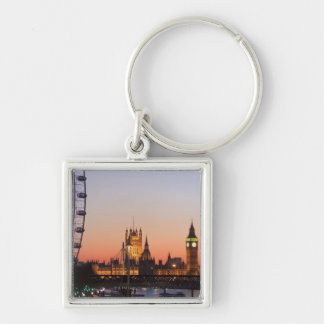 Houses of Parliament & the London Eye Key Ring