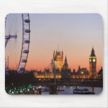 Houses of Parliament & the London Eye Mouse Pad