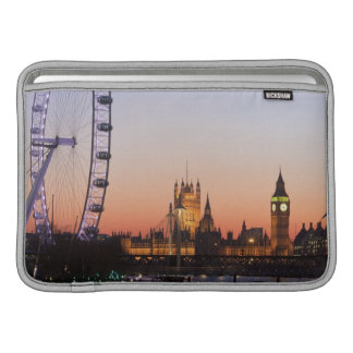 Houses of Parliament & the London Eye Sleeve For MacBook Air