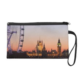 Houses of Parliament & the London Eye Wristlet