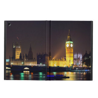Houses of parliment and Big Ben in London UK iPad Air Covers