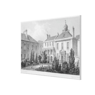 Houses on Surgeons' Square, Edinburgh Stretched Canvas Prints