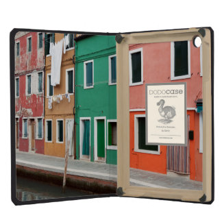 Houses on the waterfront iPad mini cover