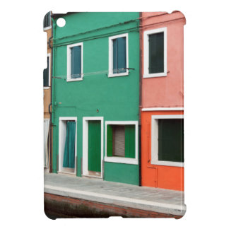Houses on the waterfront case for the iPad mini