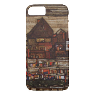 Houses with Laundry by Egon Schiele iPhone 7 Case