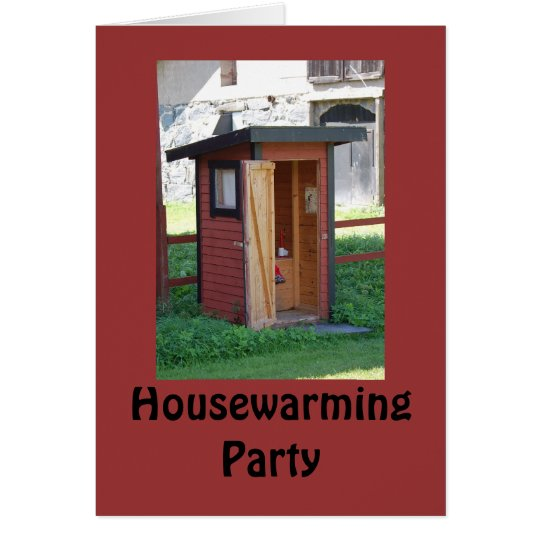Housewarming 2 Party Invitation